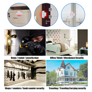 Image 3 - KERUI D1 Wireless Small Independent Door Magnetic Standalone Door/Window Sensor Alarm Security Protection alarm