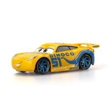 Cars Disney Pixar Mcqueen Storm Diecast Metal Alloy Yellow Toy Car 1:55 Loose Brand New In Stock Kids Toys For Boys Children 1pc genuine disney pixar cars 3 lightening macqueen car toys for children boys car race xmas gifs pull back cars kids toy no box