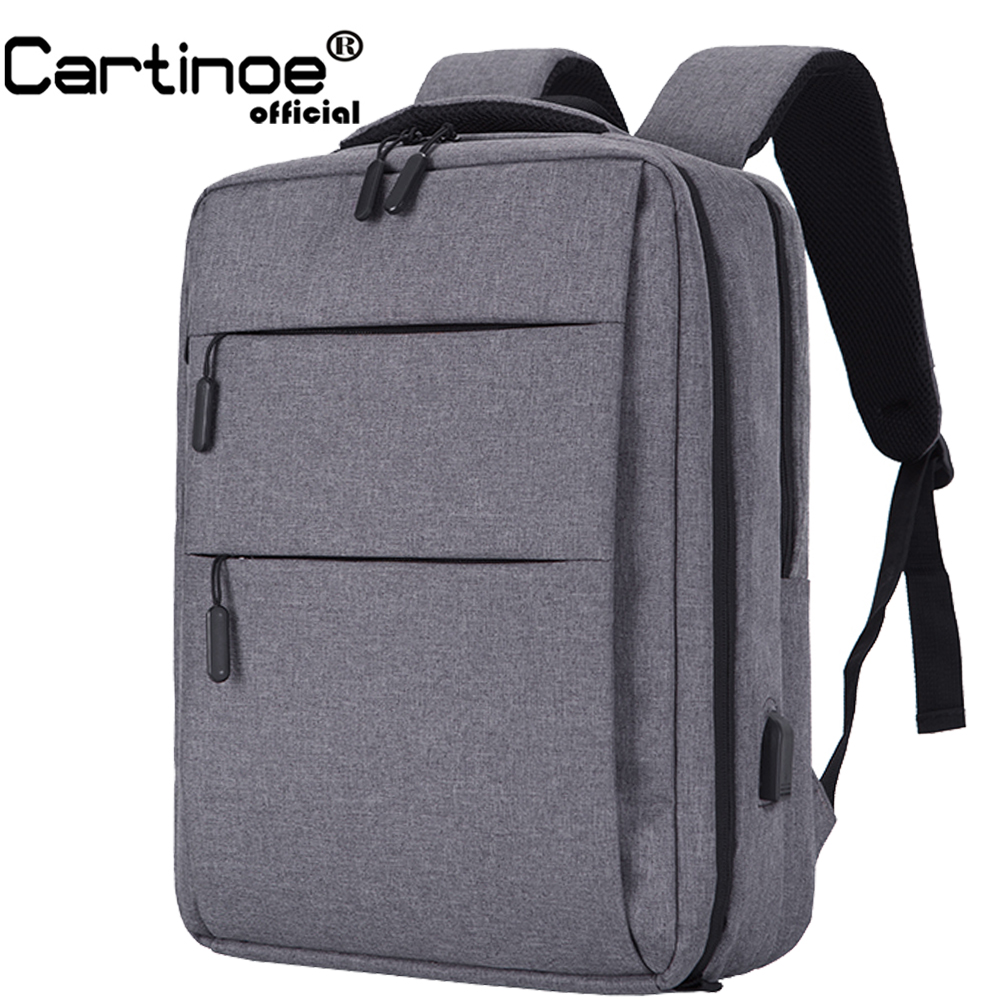 Cartinoe Carry on Laptop Backpack with USB Charging Bag Anti Theft Backpack Men Travel Bag Male Mochila bag for Xiaomi pro 15Cartinoe Carry on Laptop Backpack with USB Charging Bag Anti Theft Backpack Men Travel Bag Male Mochila bag for Xiaomi pro 15