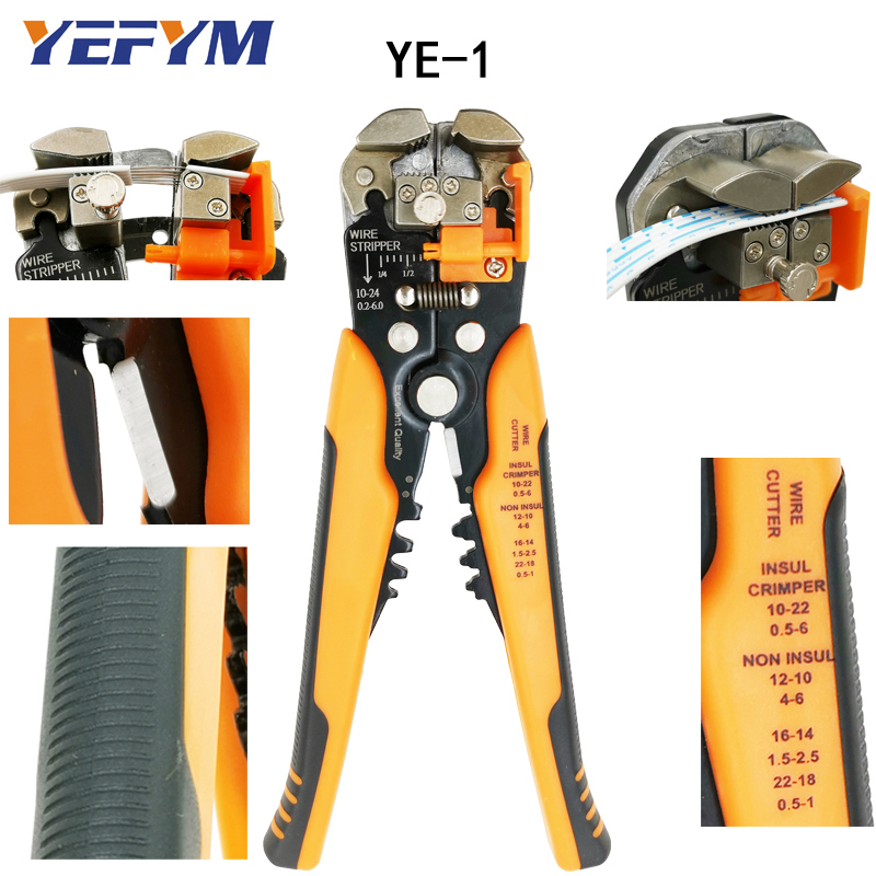 3 in 1 Multi tool Automatic Adjustable Crimping Tool Cable Wire Stripper Cutter Peeling Pliers D1 repair tools diagnostic-tool3 in 1 Multi tool Automatic Adjustable Crimping Tool Cable Wire Stripper Cutter Peeling Pliers D1 repair tools diagnostic-tool
