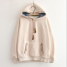 pullover thickening 2 girl