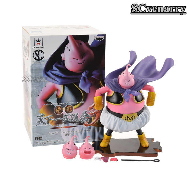 Dragon ball z majin buu majin boo banpresto figura colosseum pvc action figure collectible modelo brinquedos 14 cm presentes de natal