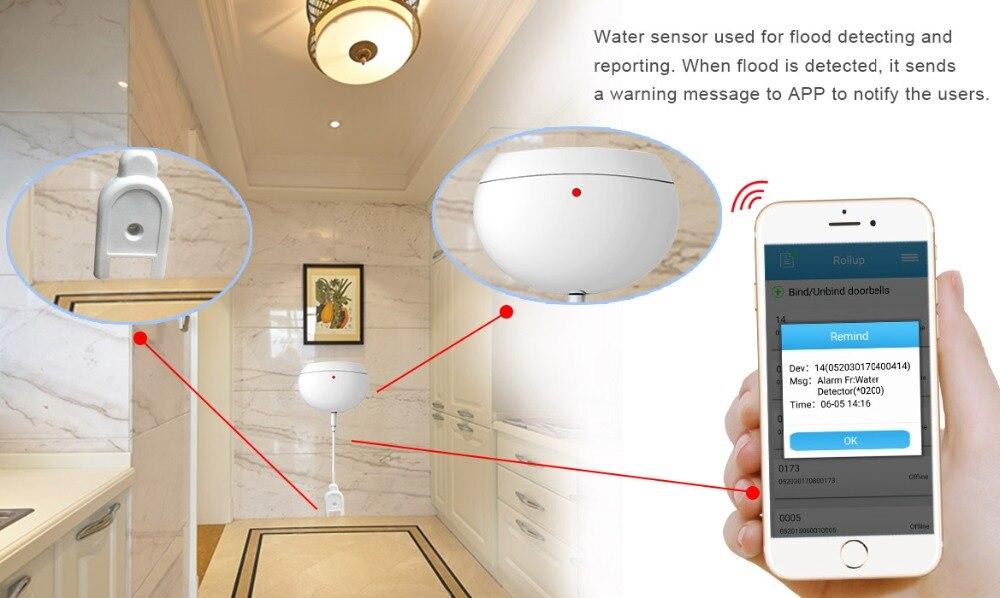 Wireless Video Door Phone Smart WIFI Peephole Doorbell Intercom 7 quot Touch Screen 2 0 mega door camera 8PCS IOT SET in Alarm System Kits from Security amp Protection