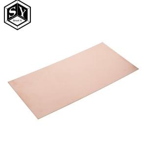 1PCS GREAT IT 100x200x1.5mm Copper Clad Plate Pcb Circuit Board Fr4 Laminate