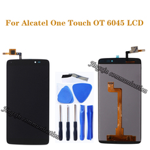 5.5 for Alcatel One Touch Idol 3 5.5 6045 OT-6045 6045K 6045Y LCD Screen Digitizer Component display Repair Accessories+tools alcatel one touch sp 6045 g6045 3aalspg original