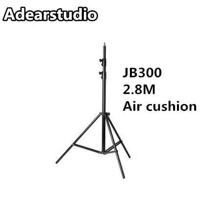 JB300 Pro, Premium Grade Light Stand 2.8m Stand with Air Cushion Professional Air Cushioned Light Stand NO00DC кеды кроссовки низкие nike zoom stefan janoski prem txt black white green glow