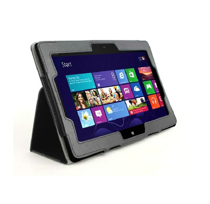New 2-Folder Luxury Magnetic Folio Stand Leather Case Protective Cover For ASUS Win8 VivoTab RT TF600T TF600 TF600TG 10.1