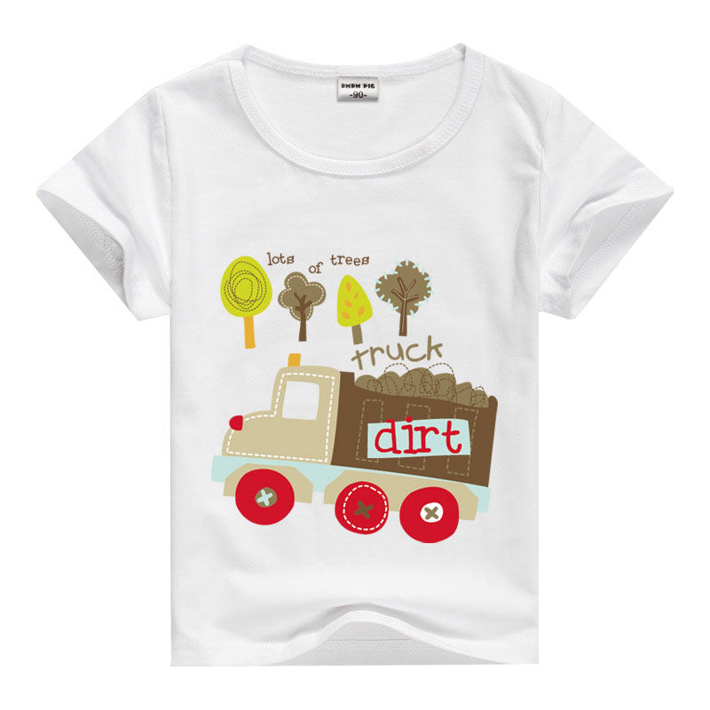 Birthday teens t shirts for girls children clothing boys for 7 year old boy shirt size