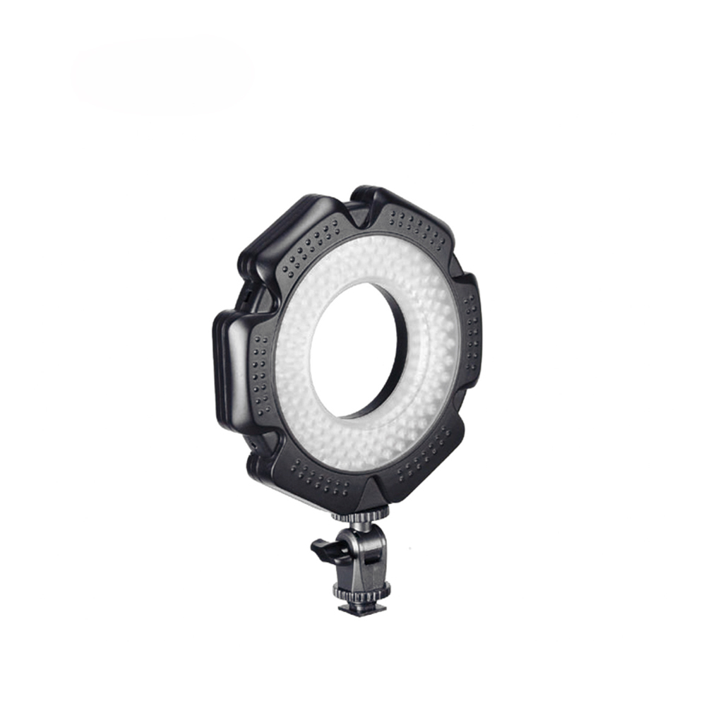 160 Macro Photo 10W LED Camera Video Ring Light Dimmable With Adapter Rings For  Canon Nikon Sony Olympus Camera DSLR