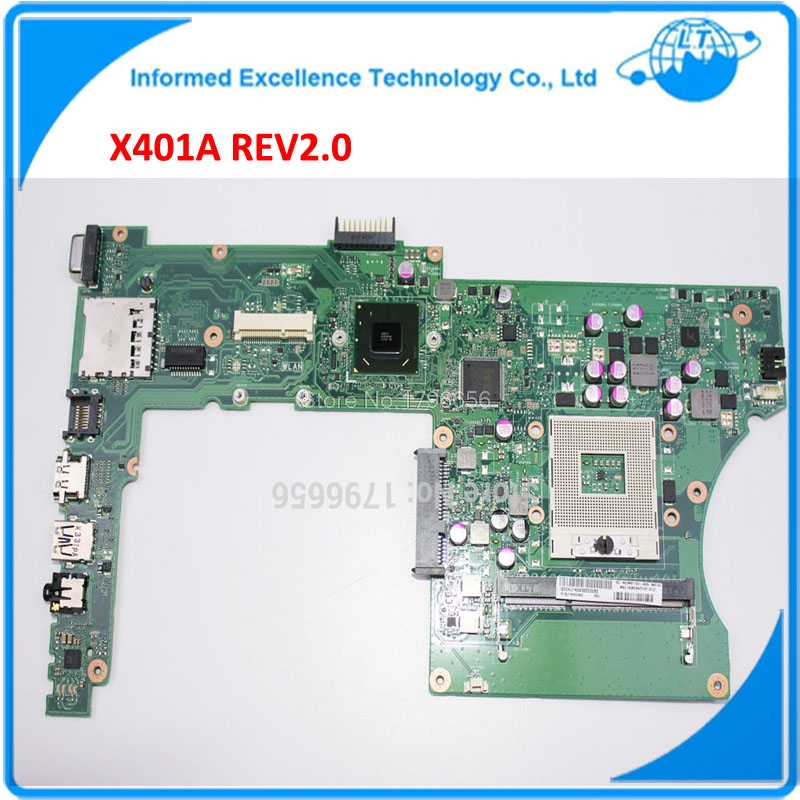NEW ! x401a 60-MN0MB1202-A06 15.6 Inch X501A REV 2.0 Laptop Motherboard TESTED 100% 45days Warranty