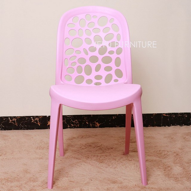 Modern Design Popular fashion Plastic Stackable Dining Chair