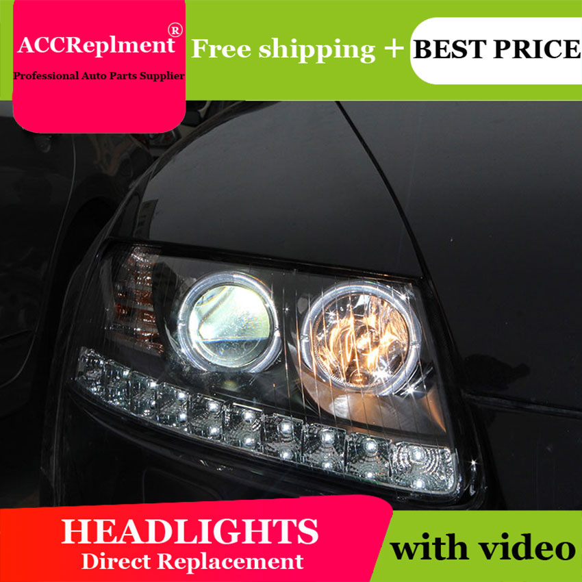 Car Tax Disc Holders New Head Lamp Car Styling For Audi A6 C5 Headlights 2005-2012 A6 Led Headlight Drl Lens Double Beam Hid Kit Xenon Bi Xenon Lens