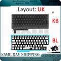 Nueva computadora portátil A1286 Reino Unido teclado para Apple Macbook Pro 15,4