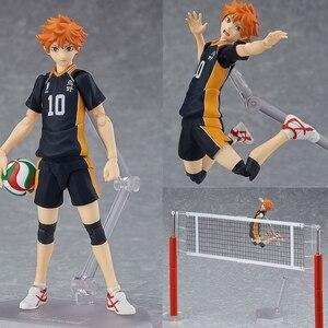 Image 1 - Haikyuu!! כדורעף ספורטאי Hinata Syouyou Shoyo Figma 358 PVC פעולה איור אוסף דגם צעצועי בובה