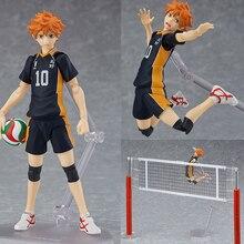 Haikyuu!! Voleibol atleta hinata syouyou shoyo figma 358 pvc figura de ação coleção modelo brinquedos boneca