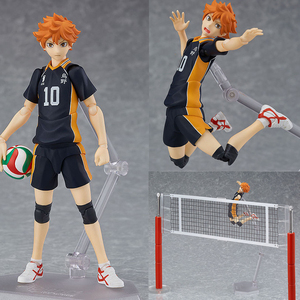 Image 1 - Haikyuu!! Volleyball Athlete Hinata Syouyou Shoyo Figma 358 PVC Action Figure Collection Model Toys Doll