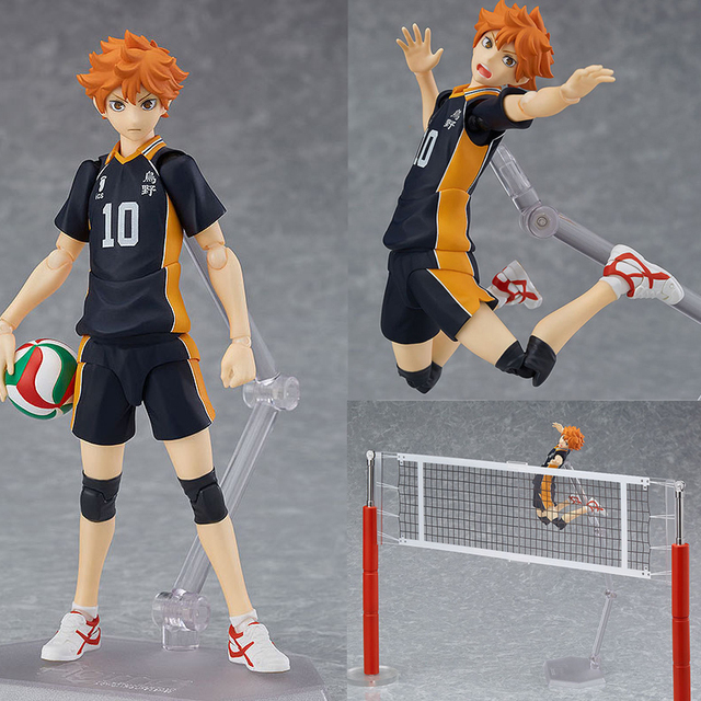 Haikyuu!! Volleyball Athlete Hinata Syouyou Shoyo Figma 358 PVC Action Figure Collection Model Toys Doll