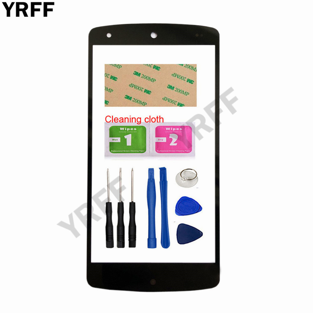 4.95'' Nexus5 (No Mobile Touch Screen) Outer Glass For Google Nexus5 Nexus 5 Front Glass Panel Replacement