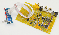 ES9038 Q2M potrójny przełącznik pokładzie dekoder DAC wsparcie włókna koncentryczny wejście USB