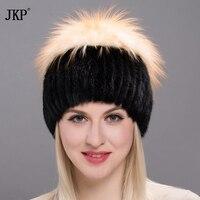สาวในช่วงฤดูหนาวหมวกผู้หญิงในรัส