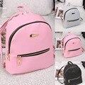 Новый твердые опрятный стиль рюкзак качество женщины покупки рюкзаки дамы дорожные сумки Подросток Студент школы сумка сумка