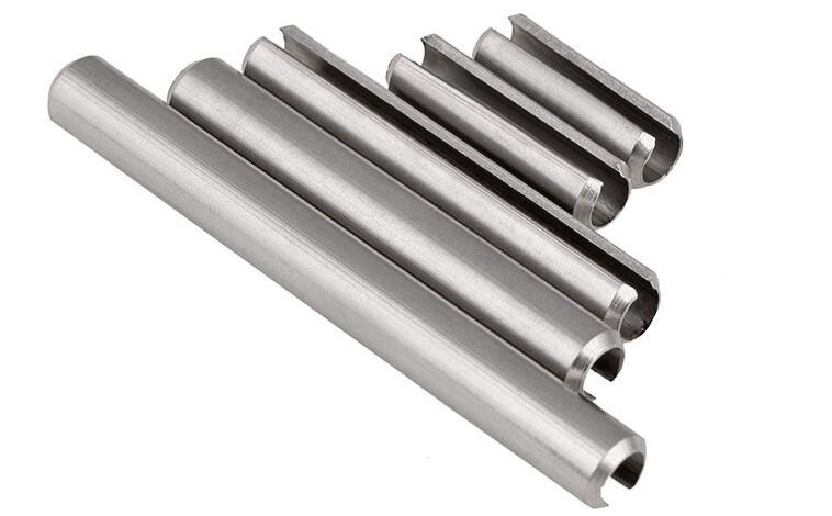 304 Stainless Steel Split Spring Roll Dowel Pins Fasteners