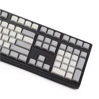 87 Light White Grey PBT Blank XDA Keycaps ANSI ISO Cherry Mx For Mechanical Keyboard Xd64 Xd60 Xd68 Xd84 Xd96 Planck 87 104 Tkl (4)