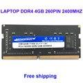 Kembona оперативная память ноутбук DDR4 4 Гб 2400 МГц 4G для ноутбука SODIMM RAM модуль 260PIN 2666 МГц