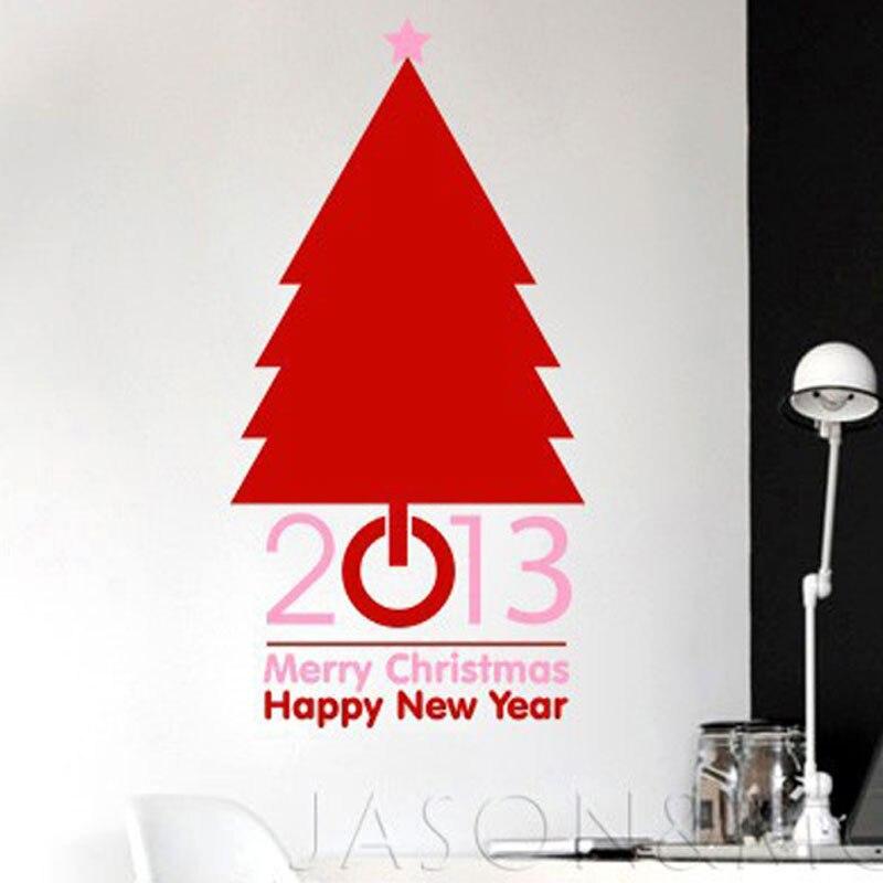 Tapete Kreative Kundenspezifische 2016 Frohe Weihnachten Baum Wort ...