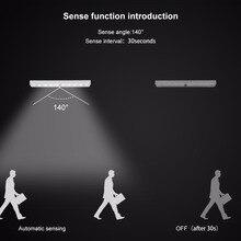 Motion Detector Sensor Closet Night Light Lamp 10LEDs