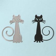 DUOFEN 2PCS/Cat metal flowers cutting dies new 2018 DIY Scrapbooking paper craft card