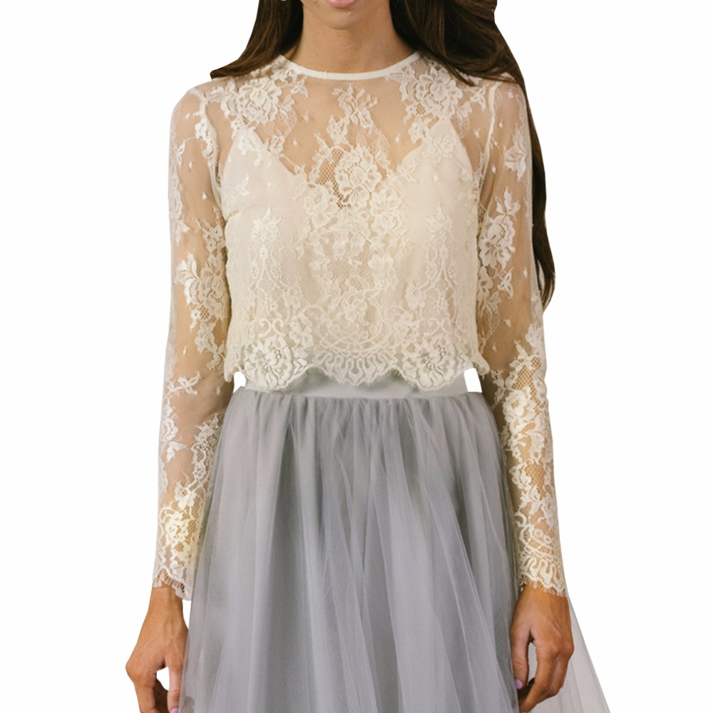 8a0156b2a3b Popular Ivory Lace Blouse-Buy Cheap Ivory Lace Blouse lots from .