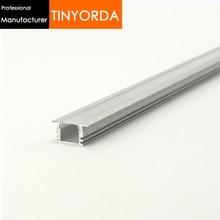 Tinyorda 100Pcs (2M Length)Strip Alu Led Profile Channel Profil for 11mm LED Strip Light [Professional Manufacturer] TAB2212