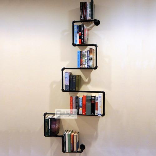 Aliexpress.com: Beli Pipa besi rak dinding di dinding ...