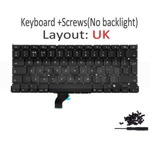 "Image 3 - New for Macbook Pro Retina 13"" A1502 UK English Keyboard with Backlight 2013 2014 2015 Year ME864 ME866 MGX72 MGX92 MF839 MF841"