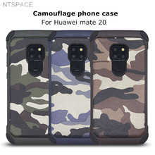 NTSPACE Camouflage Phone Case For Huawei Mate 20 Pro 10 Army Camo Shockproof Cover P30 P20 P10 Plus P9