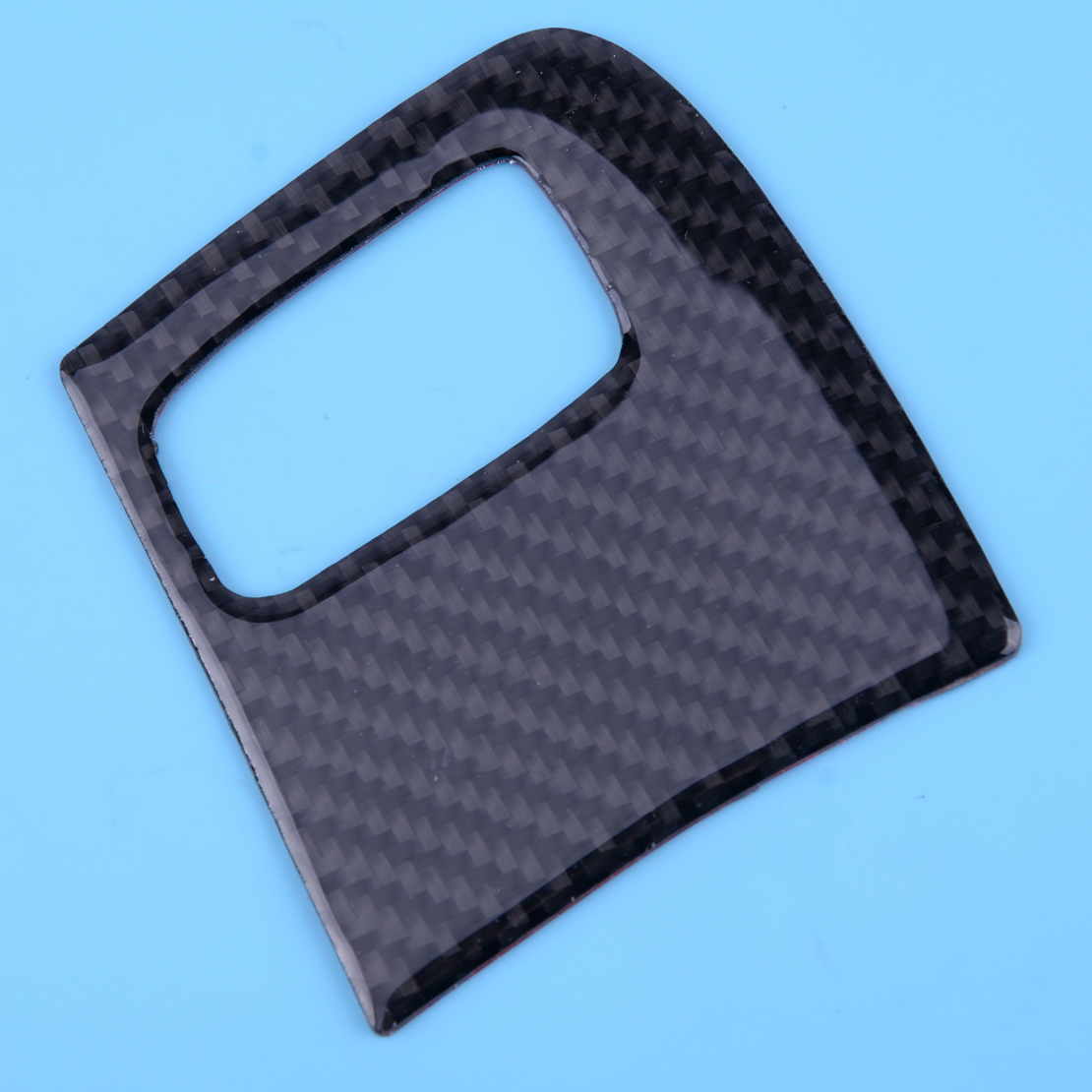 Carbon Fiber Engine Start Key Hole Panel Cover Trim Sticker Fit for <font><b>Audi</b></font> <font><b>A4</b></font> B8 2009 2010 2011 2012 <font><b>2013</b></font> 2014 2015 2016 image