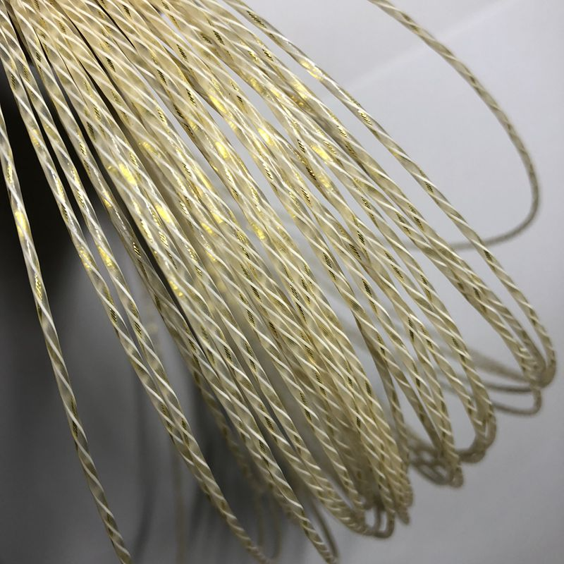 1pc ZARSIA TX-6021 Tennis String High Elastic Nylon Tennis Rackets String Multifilament Elastic Tennis Strings 12M 1.30m