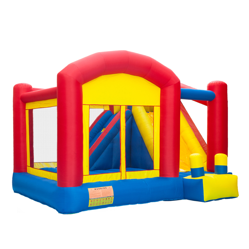Hot Sale Bounce House Inflatable Jumping Trampoline For Kids Party Bouncy Castle Bouncer With Slide for ChildrenHot Sale Bounce House Inflatable Jumping Trampoline For Kids Party Bouncy Castle Bouncer With Slide for Children