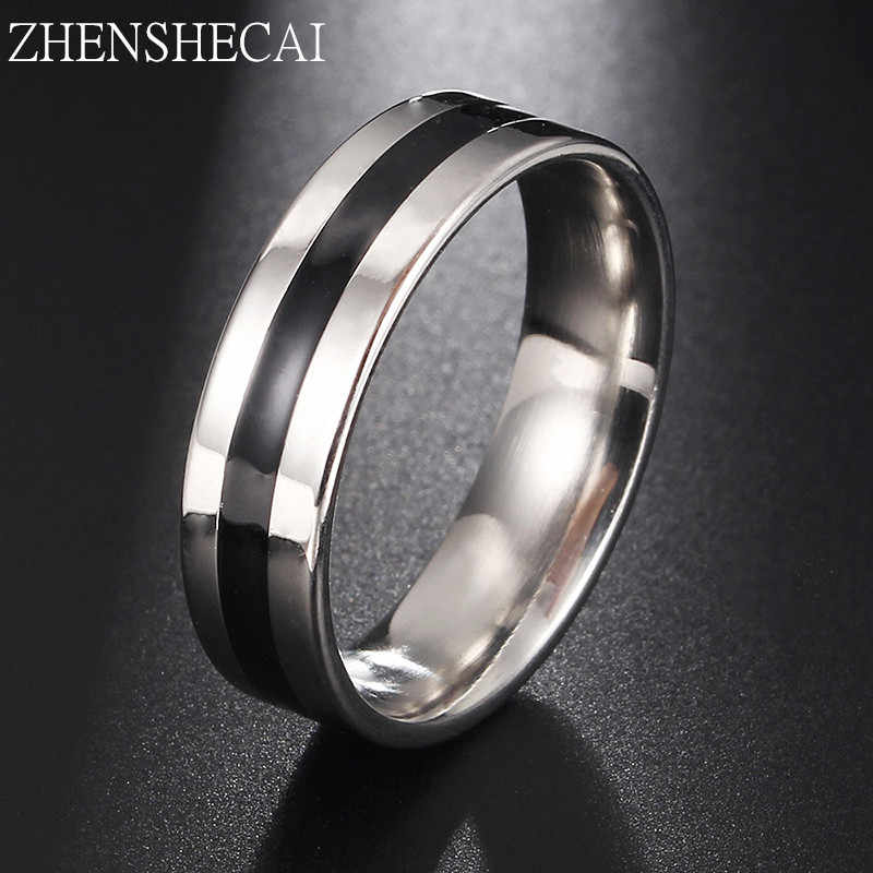 Vintage sliver stainless steel Ring women Mens Jewelry for Wedding Party engagement jewelry lovers Free Shipping g15