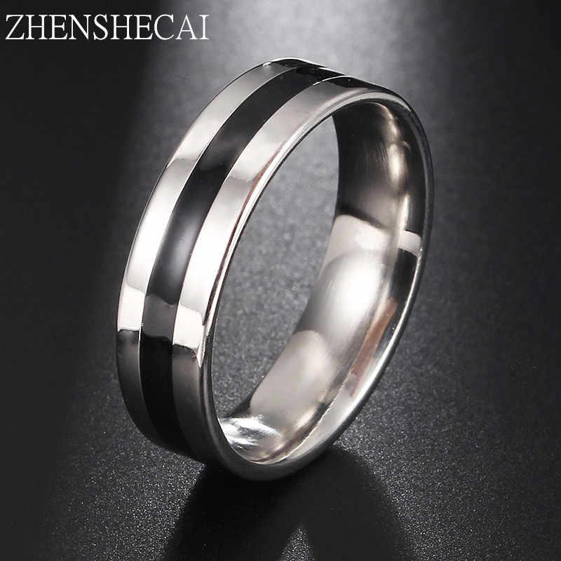 Винтажное серебряное кольцо из нержавеющей стали для женщин и мужчин, ювелирные изделия для свадьбы, помолвки, влюбленных, бесплатная доставка g15