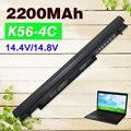 2200 мАч аккумулятор для Asus E46 E46C E46CA E46CB E46CM K46C K46CA K46CB K46CM K46V K56C K56CA K56CB K56CM K56V R405C
