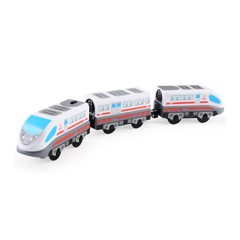 Magnetic Electric Train Toys Electric Train High-speed Rail Compatible With Train Tracks and All Kinds Of Wooden Railway
