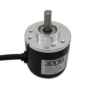 Image 1 - Free shipping PNP Pushpull AB 2 Phase 6mm shaft Incremental Optical Rotary Encoder 100 200 360 400 500 600 1000 pulse ES38