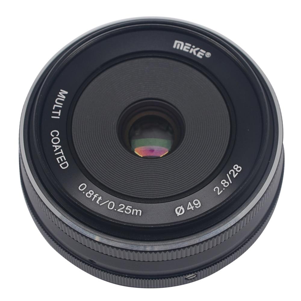 Mcoplus/Meike MK-28-2.8 28mm F/2.8 Fixed Manual Focus Lens For 4/3 System APS-C Panasonic Lumix GM1 GM2 GX1 GX2 GX7 GX8 GF5 GF6