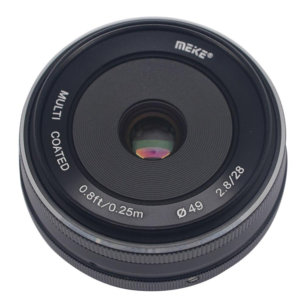Galleria fotografica Mcoplus/Meike MK-28-2.8 28mm f/2.8 fixed lens messa a fuoco manuale per 4/3 sistema GM2 APS-C <font><b>Panasonic</b></font> Lumix GM1 GX1 GX2 GX7 GX8 GF5 GF6