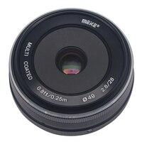 Mcoplus/meike MK-28-2.8 파나소닉 루믹스 gm1 gm2 gx1 gx2 gx7 gx8 gf5 gf6 APS-C 2.8 시스템 용 28mm f/4/3 고정 수동 초점 렌즈