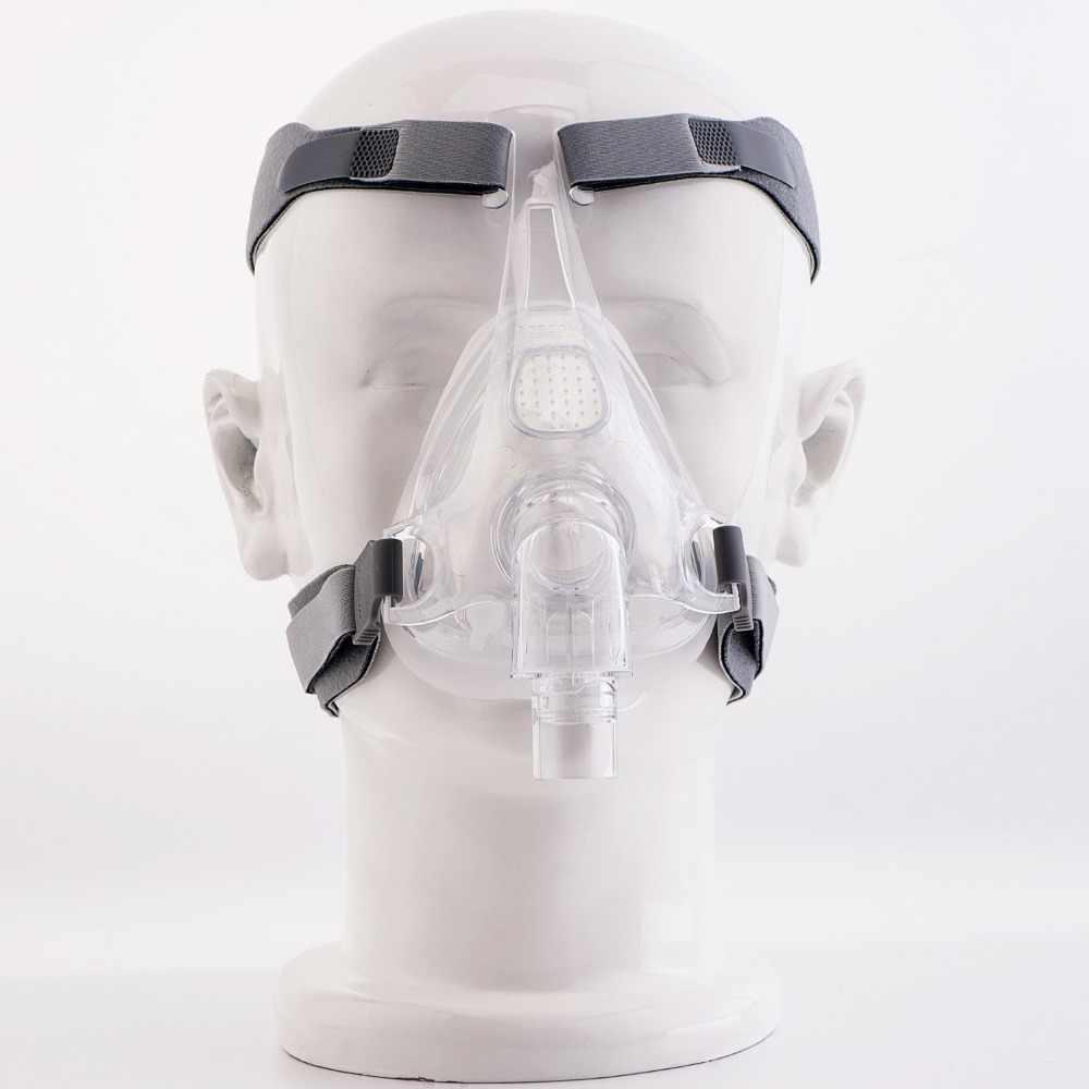 MOYEAH cpap makinesi Maskesi Tam Yüz Maskesi Ayarlanabilir Başlık Için Askı Klipsi Uyku Apnesi Anti Horlama Arıtma Çözümü