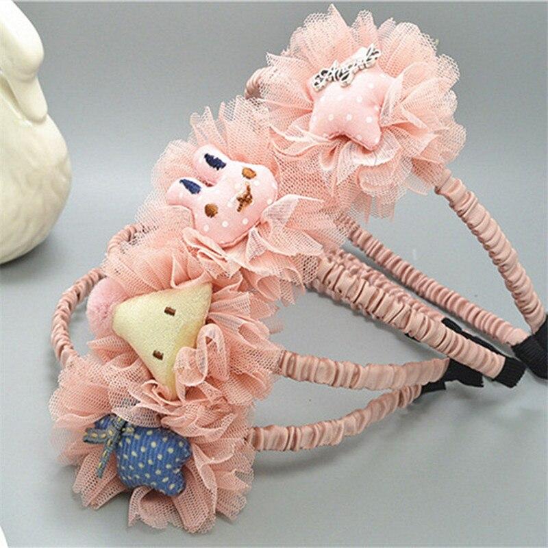 1 Pc Big Kaninchen Star Hair Kunststoff Stirnbänder Mädchen Weihnachten Geschenk Winter Boutique Headwear