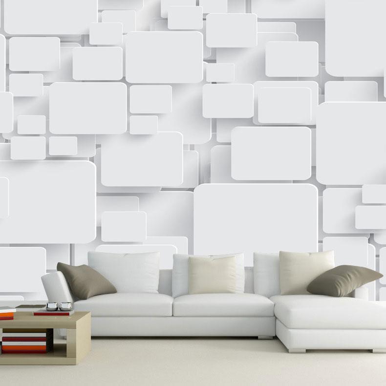 Carta da parati murale cubi 3d astratto carta da parati for Carta da parati moderna in 3d